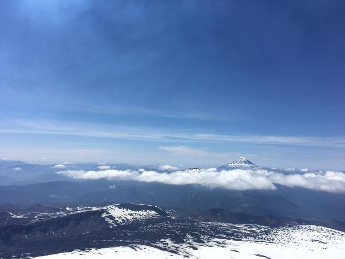 View from Villarica volcano